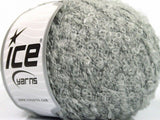 50g Ice Yarns Sale Luxury-Premium Light Grey Strickwolle Ice Yarns - Hungariana Garn und Strickwolle Online Shop