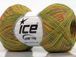 50g Sale Luxury-Premium Pink Green Shades Camel Ice Yarns Strickwolle Ice Yarns - Hungariana Garn und Strickwolle Online Shop