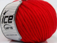 50g Sale Luxury-Premium Red Pure Merino Ice Yarns Strickwolle Ice Yarns - Hungariana Garn und Strickwolle Online Shop