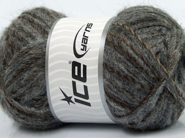 100g Sale Luxury Premium Grey / Grau Camel Ice Yarns Strickwolle Ice Yarns - Hungariana Garn und Strickwolle Online Shop