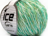Sale Plain White Green Shades Ice Yarns
