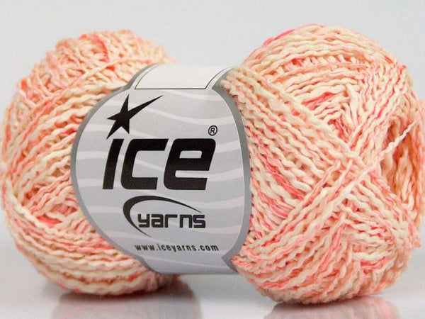 150g Sale Summer Neon Pink Cream Ice Yarns Strickwolle Ice Yarns - Hungariana Garn und Strickwolle Online Shop