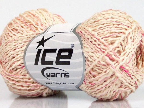 50g Sale Summer Pink Cream Ice Yarns Strickwolle Ice Yarns - Hungariana Garn und Strickwolle Online Shop