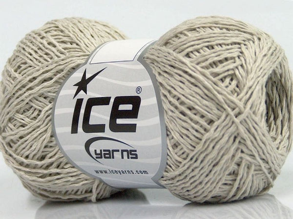 50g Sale Summer light grey Ice Yarns Sommer Hell Grau Strickwolle - Fest Keks Lebkuchen & Keks für jede Feier
