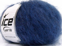 50g Sale Winter Blue Shades Mohair Ice Yarns Strickwolle Ice Yarns - Hungariana Garn und Strickwolle Online Shop