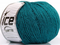50g Sale Winter Emerald Green Ice Yarns Smaragd Grün Strickwolle Ice Yarns - Hungariana Garn und Strickwolle Online Shop