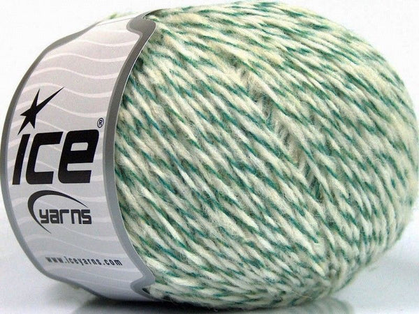 50g Sale Winter Green Cream Ice Yarns Strickwolle Ice Yarns - Hungariana Garn und Strickwolle Online Shop