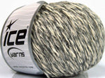 50g Sale Winter Grey Shades Cream Ice Yarns Grau Creme Strickwolle Ice Yarns - Hungariana Garn und Strickwolle Online Shop