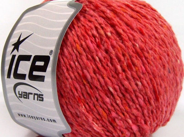50g Sale Winter Salmon Shades Tweed Ice Yarns Strickwolle - Fest Keks Lebkuchen & Keks für jede Feier