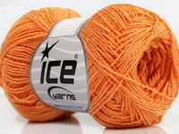 Sally Cotton Light Orange Ice Yarns 39872