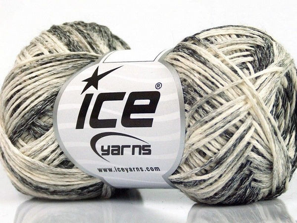 Suerte Cotton Grey Shades Cream Ice Yarns 55885