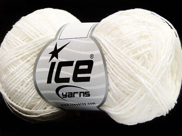 Tomboy Cotton White Ice Yarns