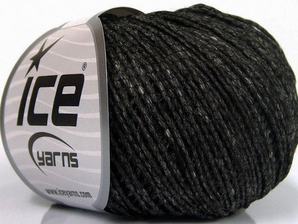 50g Tube Virgin Wool Dark Grey Ice Yarns Strickwolle - Fest Keks Lebkuchen & Keks für jede Feier