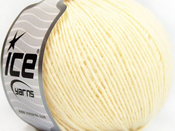 50g Wool Cord Light Lemon Yellow Ice Yarns Strickwolle - Fest Keks Lebkuchen & Keks für jede Feier