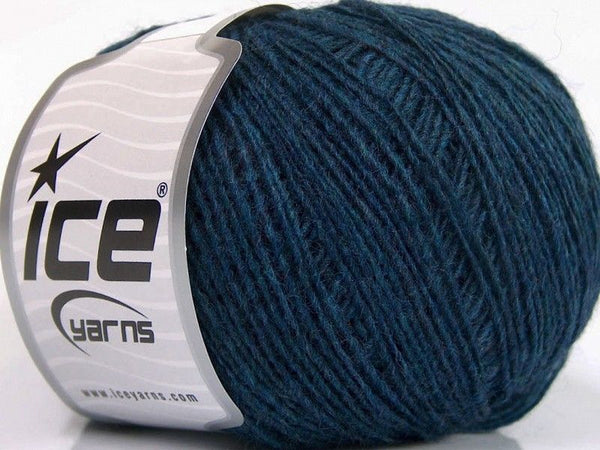 Wool Cord Sport Turquoise Ice Yarns 56492
