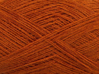 Wool Double Fine Dark Orange Ice Yarns