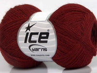 50g Wool Double Fine Dark Red Ice Yarns Strickwolle - Fest Keks Lebkuchen & Keks für jede Feier