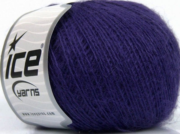 Wool Fine 30 Purple Ice Yarns Purpe Lila