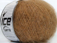 30g Merino Superfine Light Brown Ice Yarns Strickwolle - Fest Keks Lebkuchen & Keks für jede Feier