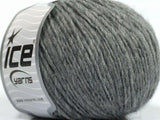 50g Bolivia Worsted Grey Ice Yarns Strickwolle Ice Yarns - Hungariana Garn und Strickwolle Online Shop