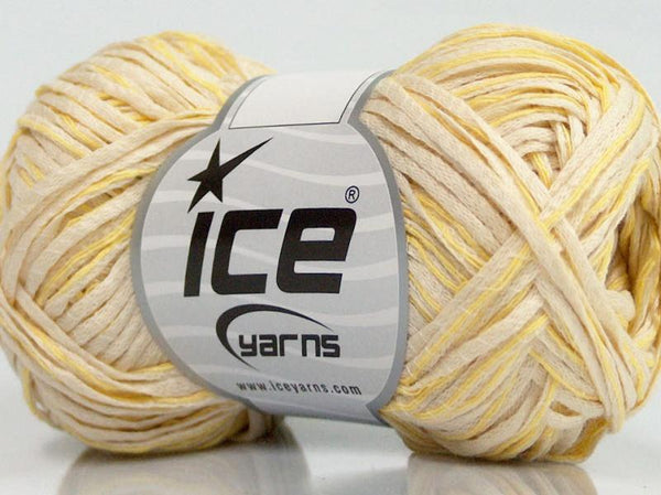 50g Sale Summer Yellow Cream Ice Yarns Strickwolle Ice Yarns - Hungariana Garn und Strickwolle Online Shop