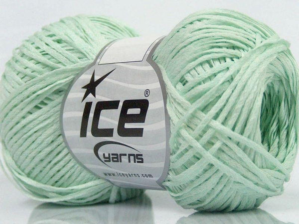 50g Bändchengarn Fettuccia Cottonac Fine Mint Ice Yarns Strickwolle Ice Yarns - Hungariana Garn und Strickwolle Online Shop
