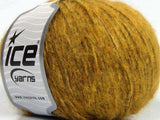 50g Air Mohair Olive Green Ice Yarns Strickwolle Ice Yarns - Hungariana Garn und Strickwolle Online Shop