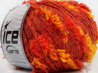 50g Alpaca Butterfly Salmon Yellow Gold Ice Yarns Strickwolle Ice Yarns - Hungariana Garn und Strickwolle Online Shop