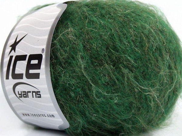 30g Alpaca Linen Superfine Green Melange Ice Yarns Strickwolle Ice Yarns - Hungariana Garn und Strickwolle Online Shop