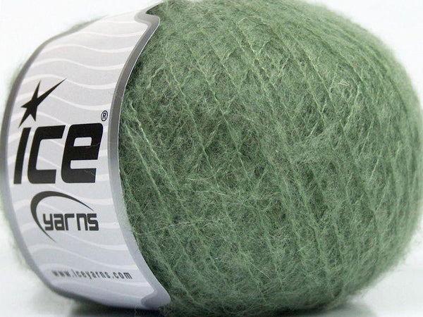 25g Kid Mohair Classic Khaki Ice Yarns Strickwolle Ice Yarns - Hungariana Garn und Strickwolle Online Shop