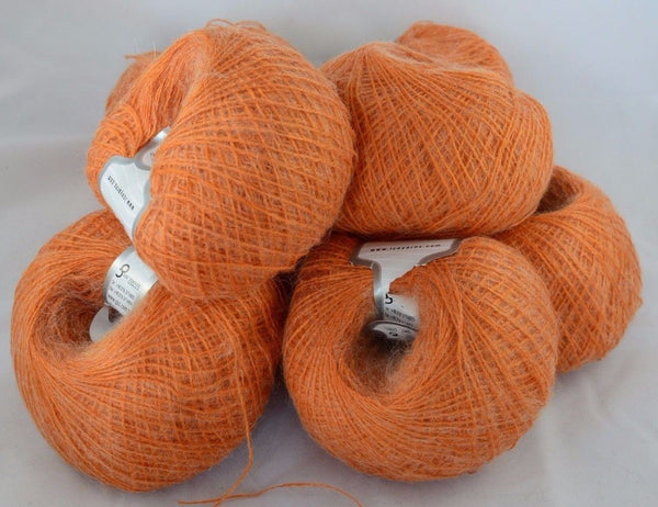 50g Briz Alpaca Orange mit Merino & Mohair Ice Yarns Strickwolle Ice Yarns - Hungariana Garn und Strickwolle Online Shop