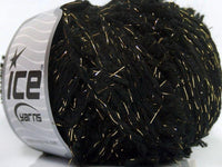 50g Alpaca Butterfly Black Gold Ice Yarns Strickwolle Ice Yarns - Hungariana Garn und Strickwolle Online Shop
