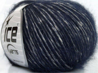 50g Lynce Alpaca Superfine Navy Ecru Ice Yarns Strickwolle Ice Yarns - Hungariana Garn und Strickwolle Online Shop