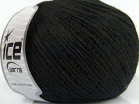 50g Viscose Alpaca Fine Black Ice Yarns Strickwolle Ice Yarns - Hungariana Garn und Strickwolle Online Shop