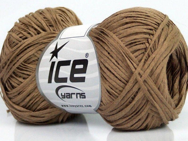 50g Fettucia Cotone Camel Ice Yarns Strickwolle Ice Yarns - Hungariana Garn und Strickwolle Online Shop