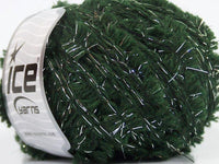 50g Alpaca Butterfly Dark Green Silver Ice Yarns Strickwolle Ice Yarns - Hungariana Garn und Strickwolle Online Shop