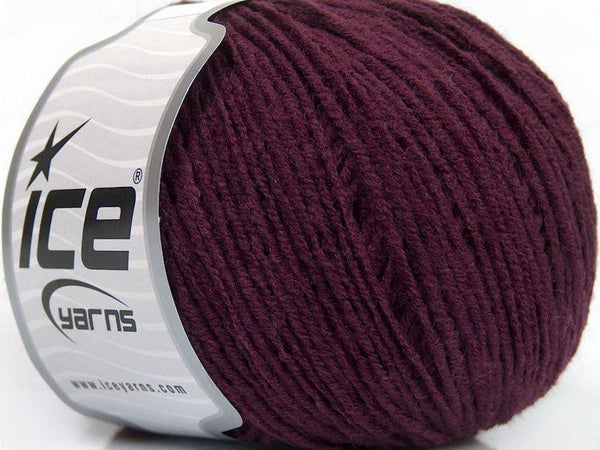 50g Sale Winter Maroon Ice Yarns Strickwolle Ice Yarns - Hungariana Garn und Strickwolle Online Shop