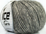 50g Lynce Alpaca Superfine Grey Cream Ice Yarns Strickwolle Ice Yarns - Hungariana Garn und Strickwolle Online Shop