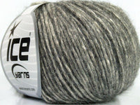 50g Lynce Alpaca Superfine Grey Cream Ice Yarns Strickwolle - Fest Keks Lebkuchen & Keks für jede Feier