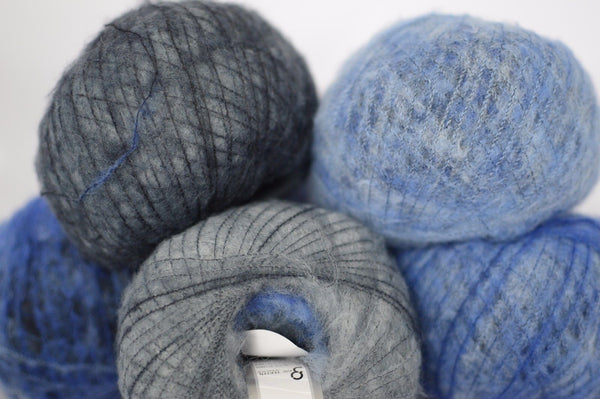 30g Simpatico Lana Superfine Grey Shades Blue Shades Ice Yarns Strickwolle Ice Yarns - Hungariana Garn und Strickwolle Online Shop