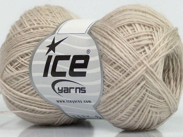 50g NATURAL WOLLE Winter Beige Ice Yarns Strickwolle Ice Yarns - Hungariana Garn und Strickwolle Online Shop