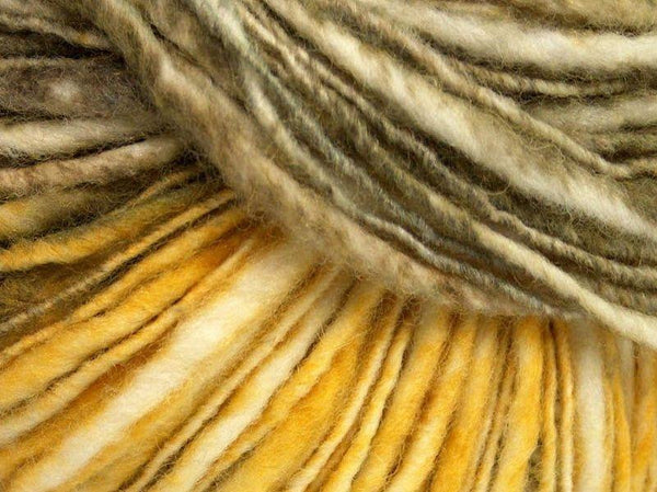 50g Fjord Wool Color Yellow Navy Light Green Cream Blue Ice Yarns Strickwolle Ice Yarns - Hungariana Garn und Strickwolle Online Shop