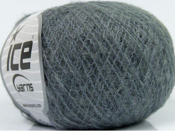 30g Termico Alpaca Dark Grey Ice Yarns Strickwolle Ice Yarns - Hungariana Garn und Strickwolle Online Shop