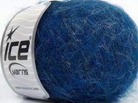 50g Alpaca Linen Superfine Blue Melange Ice Yarns Strickwolle Ice Yarns - Hungariana Garn und Strickwolle Online Shop