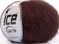 30g Kid Mohair Fine Maroon Ice Yarns Strickwolle Ice Yarns - Hungariana Garn und Strickwolle Online Shop