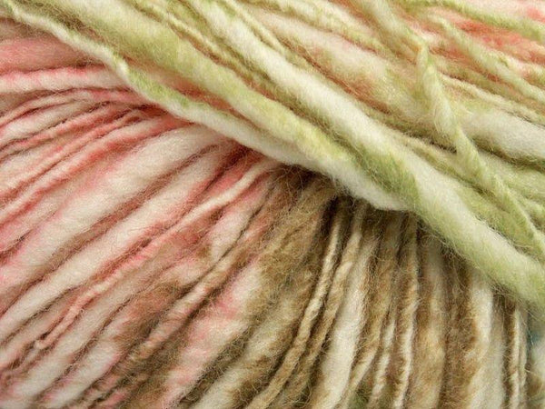 50g Fjord Wool Color Pink Light Blue Khaki Green Cream Ice yarns Strickwolle Ice Yarns - Hungariana Garn und Strickwolle Online Shop