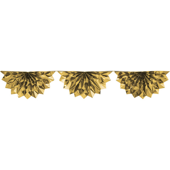Gold Garland Foil Bunting