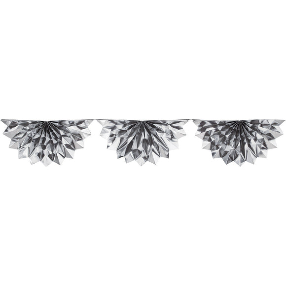 Silver Garland Foil Bunting
