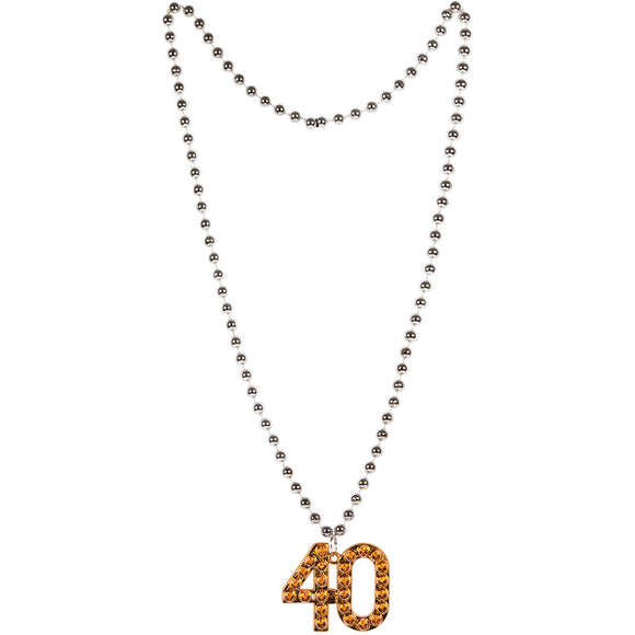 "Age ""40"" Necklace"
