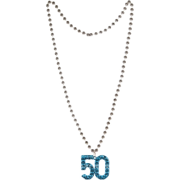 AGE 50 PLASTIC NECKLACE